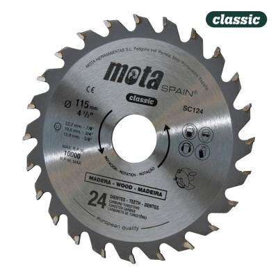 Sierra circular widia 300mm 72 dtes sc2560p