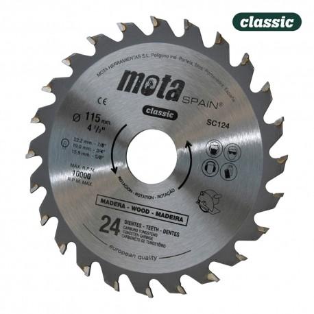 Sierra circular widia 350mm 72 dtes sc3572