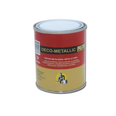 Esmalte Sintético Efecto Metálico Deco-Metallic 250 ml