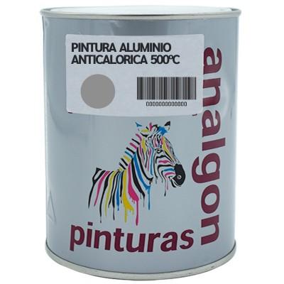 Pintura Anticalorica Gris Aluminio 500ºC| Analgon