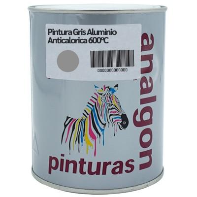 Pintura Gris Aluminio Anticalorica 600ºC| Analgon