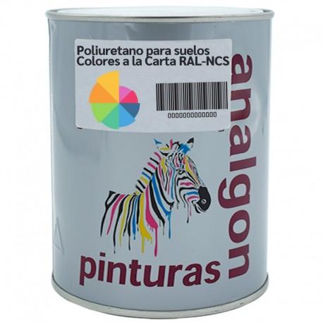 Pintura para Suelos Colores a la Carta Satinado RAL-NCS| Analgon