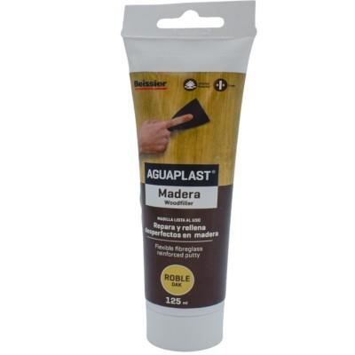 Masilla para Reparar Madera Aguaplast tubo 125 ml