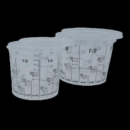 Vaso medidor para pinturas de todo tipo 400 cc / 650 cc