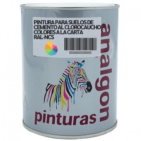 Pintura Para Suelos de Cemento al Clorocaucho Colores a la Carta RAL-NCS