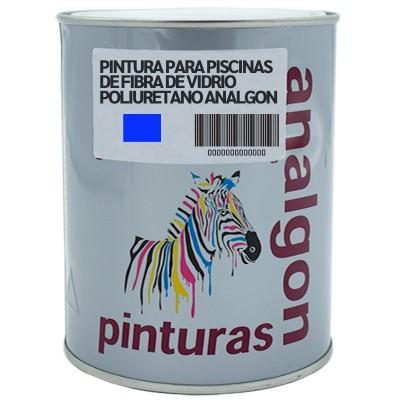 Pintura para Piscinas de Fibra de Vidrio Poliuretano ANALGON