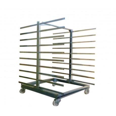 Estanteria especial para el secado de Puertas de madera pintadas o lacadas