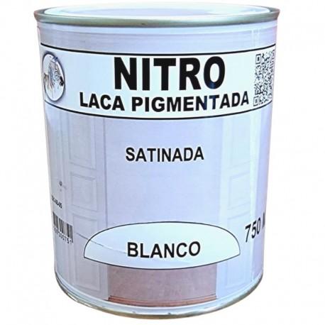 Laca para Madera Blanca Satinada Nitrocelulosa