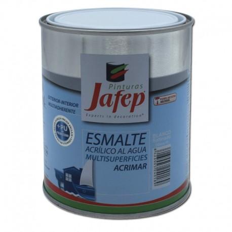 Esmalte al Agua Multisuperficies Blanco/Negro Mate Acrimar