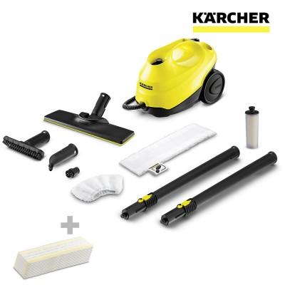 S.of. limpiadora de vapor sc3 easy fix + paños karcher