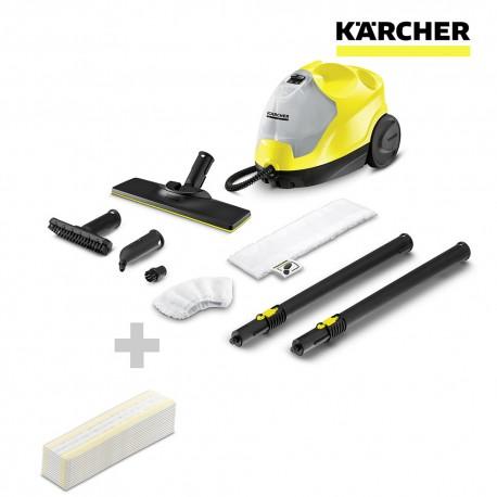 S.of. limpiadora de vapor sc4 easy fix + paños karcher