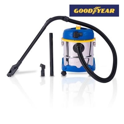 Aspirador polvo - líquidos 1.200w 20 l goodyear gy 20vc