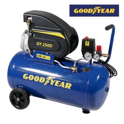 Compresor electrico 1.500w 2 hp 50 l goodyear gy250d