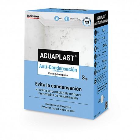 Masilla Plaste en polvo Aguaplast Anticondensación de 3 Kg.