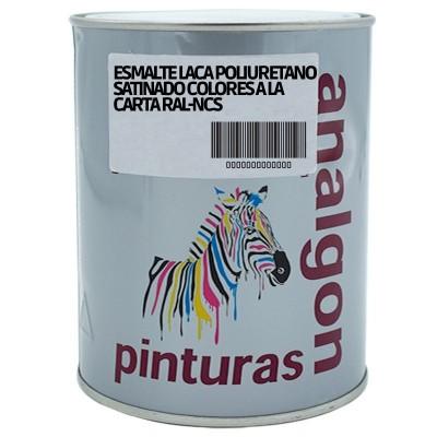 Esmalte Laca Poliuretano Satinado Colores a la Carta RAL-NCS