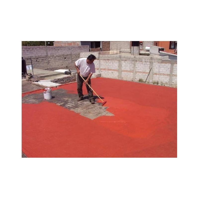 Pintura de caucho para terrazas reparacin de azoteas o - Caucho para tejados ...
