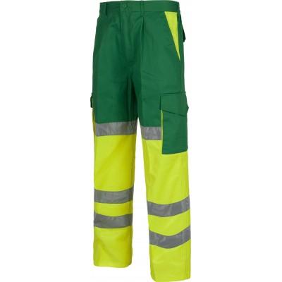 Pantalón de Alta Visibilidad Reflectante C3314 Workteam