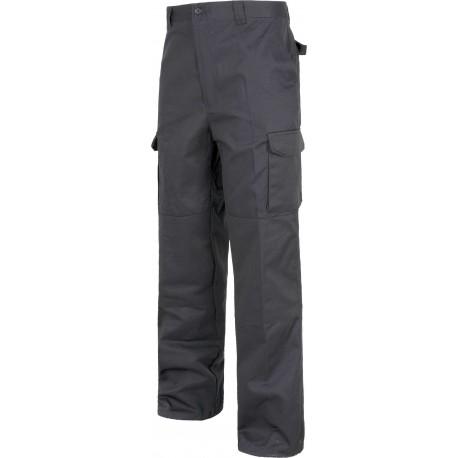 Pantalón de Trabajo Industrial Multibolsillos con Refuerzos B1416 Workteam