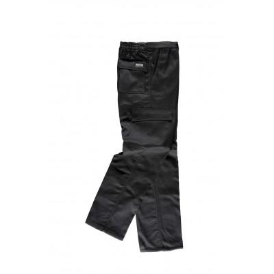 Pantalón de Trabajo Multibolsillos para Invierno B1408
