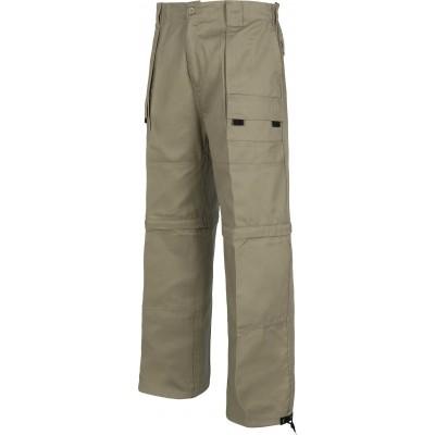 Pantalón de Trabajo Multibolsillos con Perneras Desmontables B1420