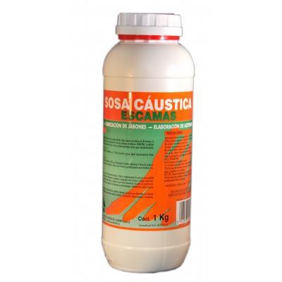 Sosa Caústica en escamas (Hidroxido de sodio) para Desatascar