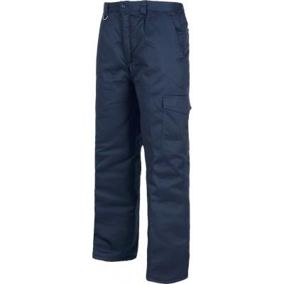 Pantalón de Trabajo Multibolsillos para Invierno B1410