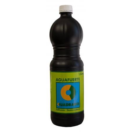 Aguafuerte (Ácido Clorhidrico) para Limpiar o Quitar Manchas