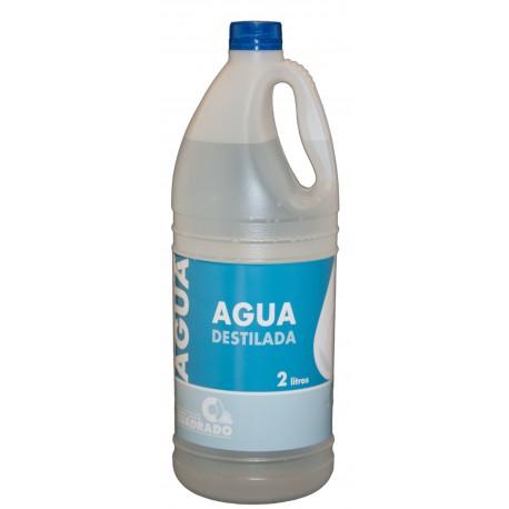 Agua Destilada, Desmineralizada o Desionizada