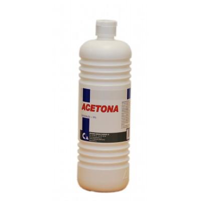 Acetona 1 Litro Disolvente y Limpiador