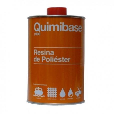 Resina de Poliéster Transparente Quimibase 1kg