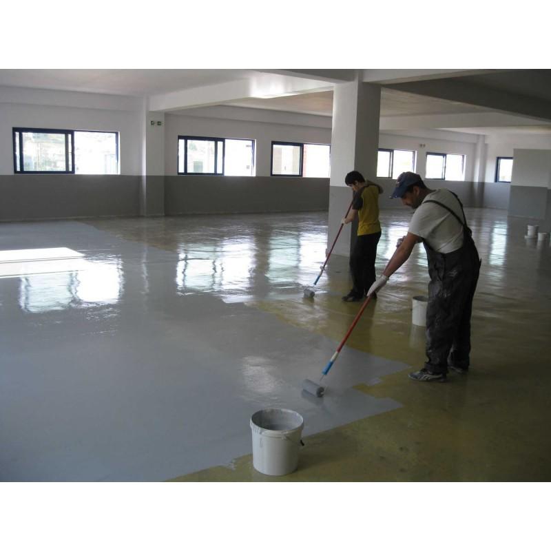 Pintura para suelos de clorocaucho econ mica colores - Pinturas para suelo ...
