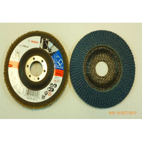 Disco de Corte Desvaste para Metal de Lamas 125mm