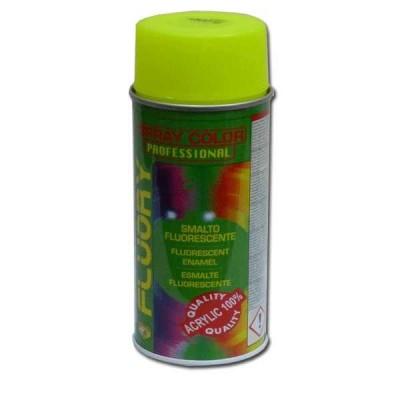 Pintura en Spray Amarillo Fosforito
