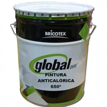 Pintura Anticalórica 650º para Barbacoas, Estufas, Chimenas, Motores Bricotex