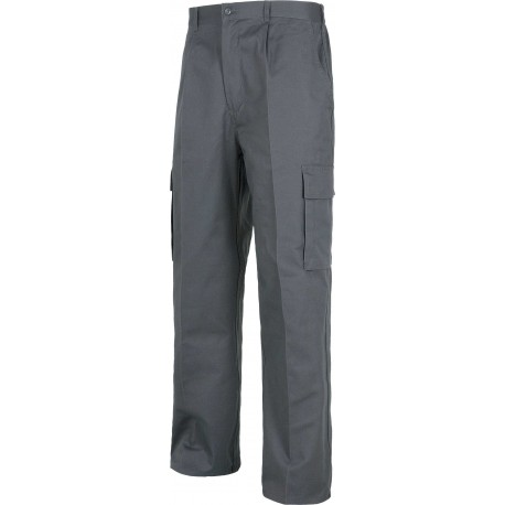 Pantalón de Trabajo Multibolsillos de Algodón Ligero B1456 Workteam