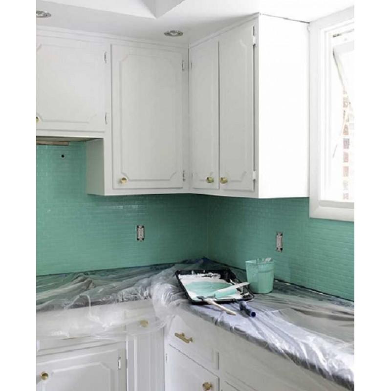 Colores pintura cocina cocina pared color ideas pizarra - Pintura para cocinas ...