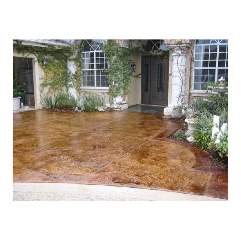 Barniz protector al agua para suelos de hormig n impreso 4lt - Hormigon decorativo para suelos ...