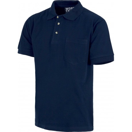 Camiseta Polo de Trabajo Algodón 100% S6507 Workteam