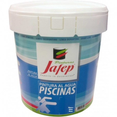 Pintura la Agua para Piscinas 15L + Rodillo Antigoteo Gratis