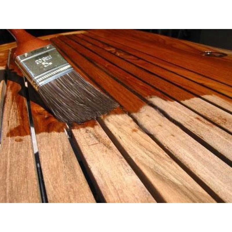 Barniz satinado e incoloro para madera en exterior e interior - Barniz para madera interior ...