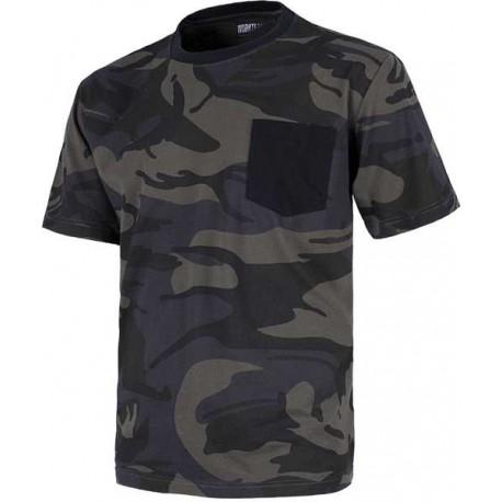 Camiseta de Camuflaje para Deportes de Aventura y Caza