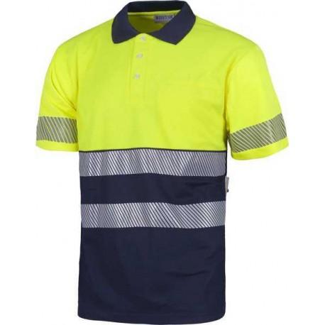 Camiseta Polo de Trabajo Alta Visibilidad C3890 Workteam