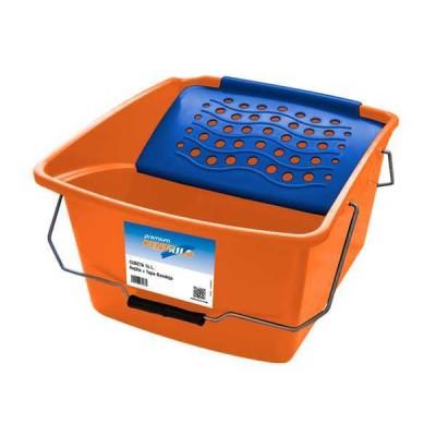 Cubeta de Pintor de Plástico 16 Lt. con Rejilla