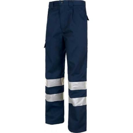 Pantalón Polar Combi con Cintas Reflectantes B1417 Workteam