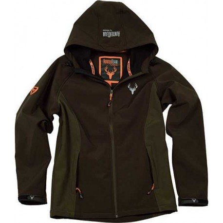 Chaqueta Impermeable Workshell para Caza y Pesca S8610 Workteam
