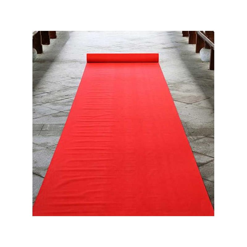 Rollo moqueta alfombra roja ferial para bodas y eventos - Alfombra en rollo ...