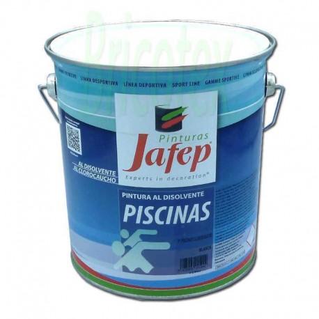 Pintura para piscinas clorocaucho blanco extra jafep - Pintura piscina clorocaucho ...