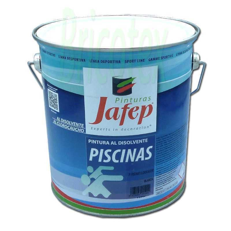 Pintura para piscinas clorocaucho extra jafep - Pintura piscina clorocaucho ...