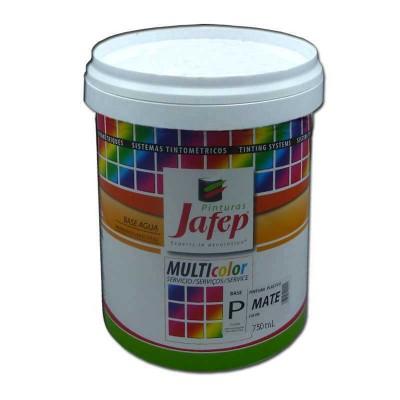 Pintura Plástica Mate para Interiores Colores a la Carta