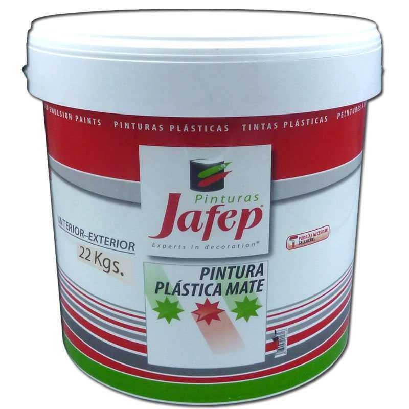 Pintura pl stica blanca mate interiores mate paredes y techos - Pintura plastica blanca ...